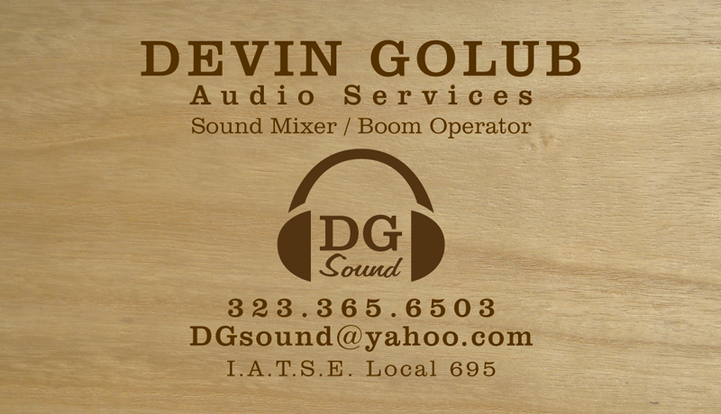Devin Golub: Logo + Business Card