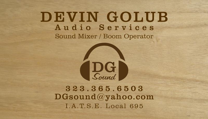Devin Golub: Logo + Business Card