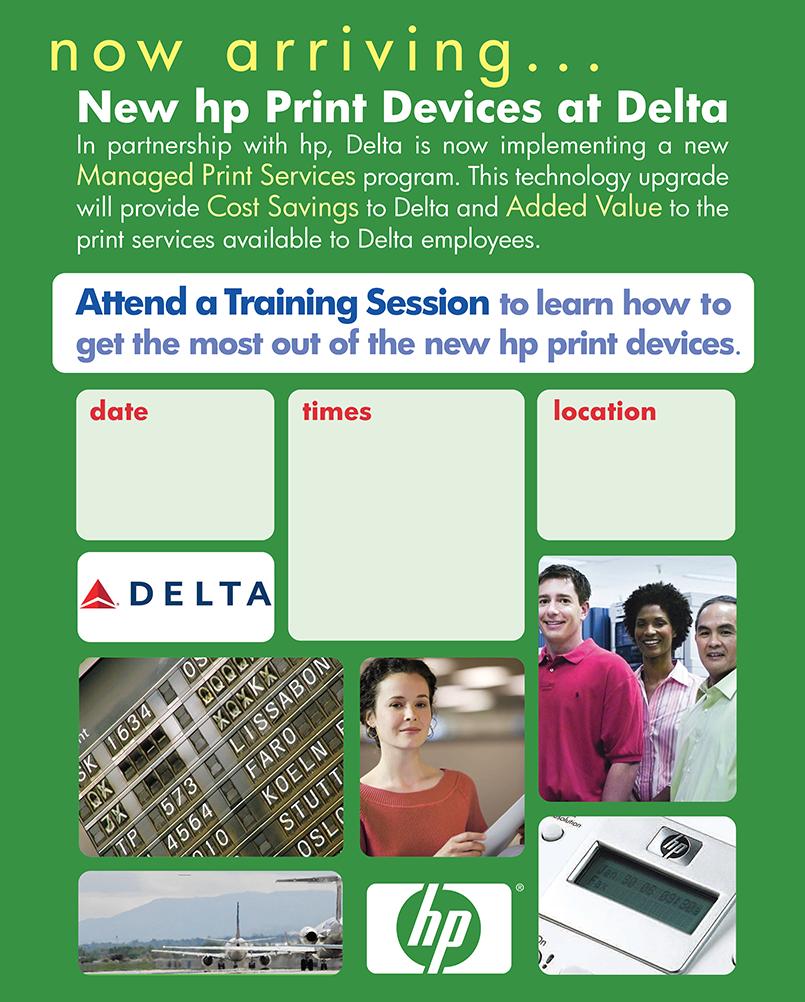 HP Delta: Poster #2