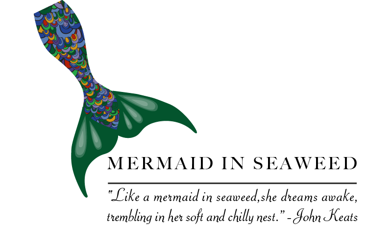 Mermaid In Seaweed: Logo