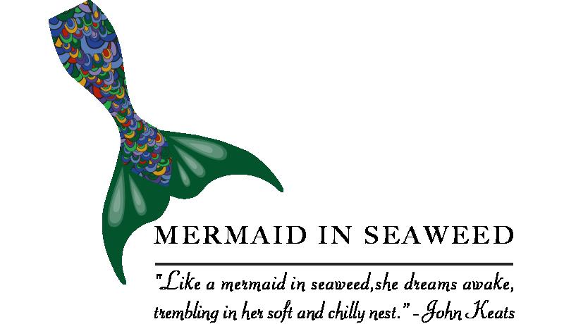 Mermaid In Seaweed: Logo