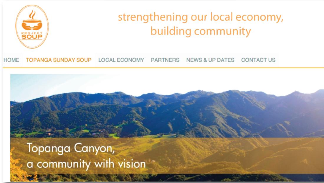 Project Soup: Website