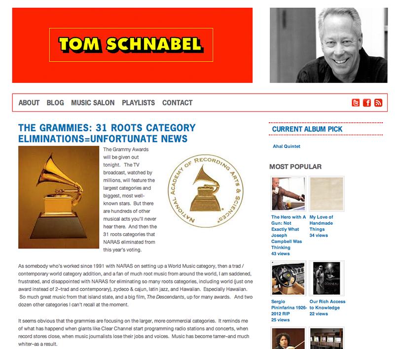 TomSchnabel.com: Blog