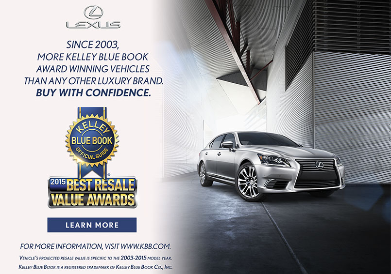 Lexus KBB Award