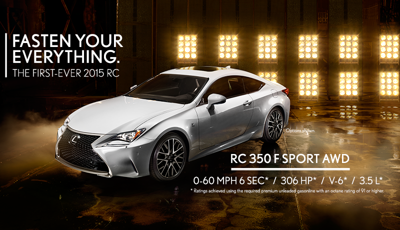 Lexus RC Marketing Push